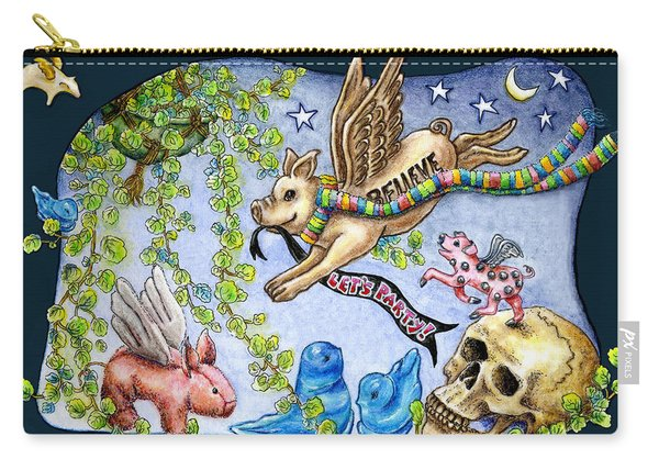 Flying Pig Party 2 Carry-all Pouch