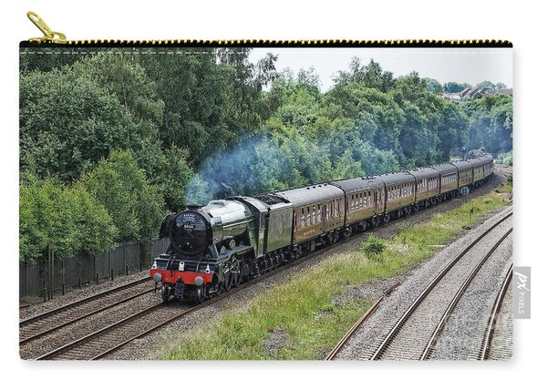 Flying Scotsman Approaching Chesterfield Carry-all Pouch