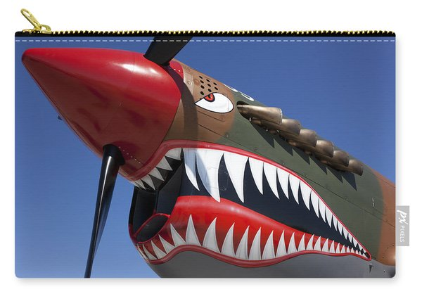 Flying Tiger Plane Carry-all Pouch