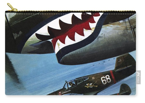 Flying Tigers Over Asia Carry-all Pouch