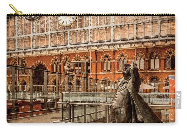 London, England - Flying Time Carry-all Pouch