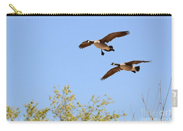 Flying Twins Carry-all Pouch