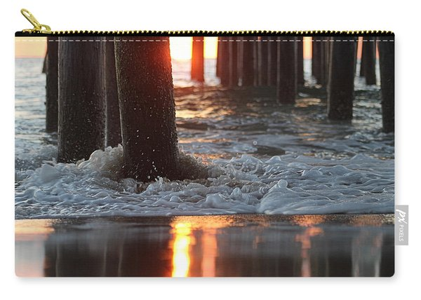 Foamy Waters Under The Pier Carry-all Pouch