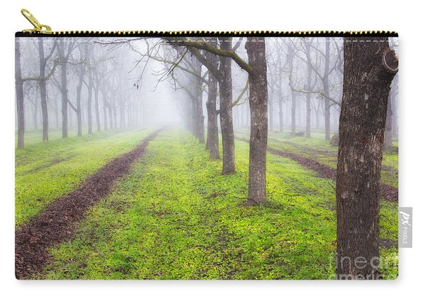 Fog And Orchard Carry-all Pouch