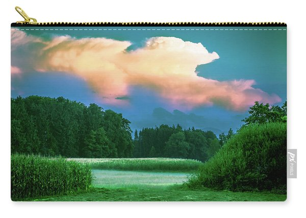 Fog On The Meadow Carry-all Pouch
