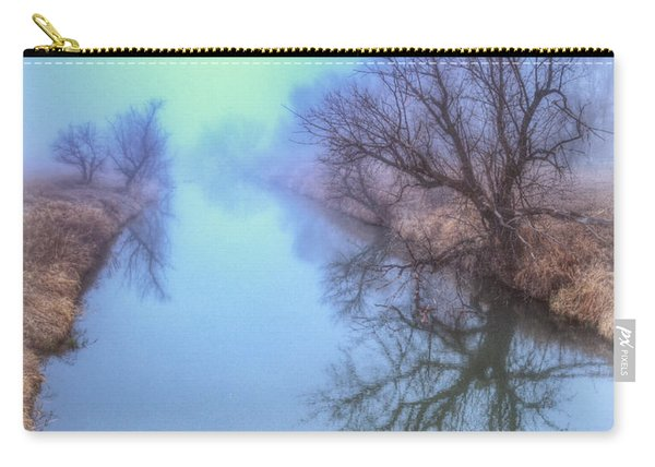 Fog On The Redwater Carry-all Pouch