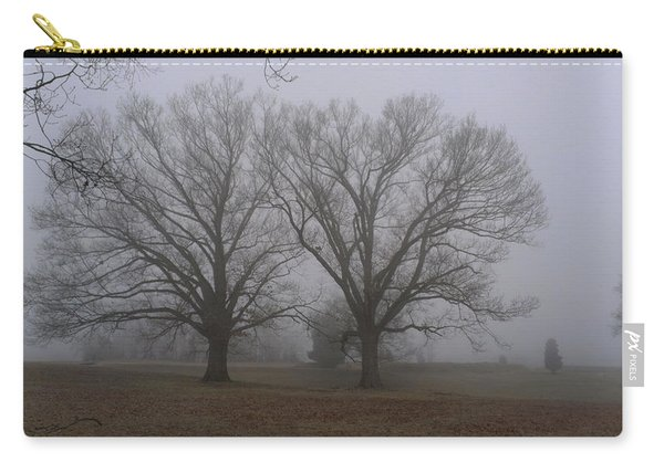 Fog On The Yorktown Battlefield Carry-all Pouch
