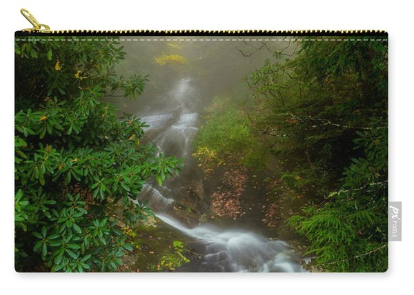 Foggy Autumn Cascades Carry-all Pouch