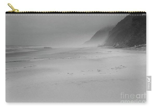 Foggy Beach Carry-all Pouch