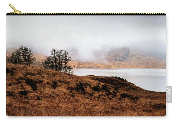 Foggy Day At Loch Arklet Carry-all Pouch