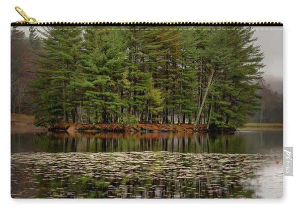 Foggy Island Reflections Carry-all Pouch