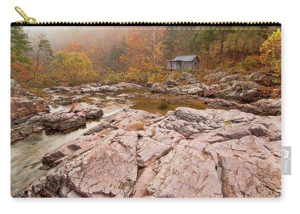 Foggy Morning At Klepzig Mill Carry-all Pouch