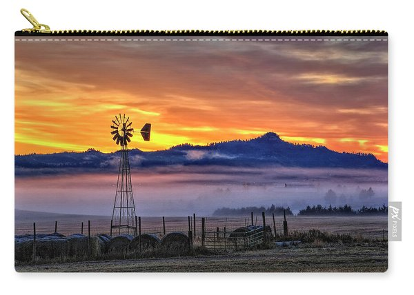 Foggy Spearfish Sunrise Carry-all Pouch