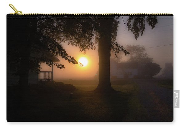 Foggy Sunrise Carry-all Pouch