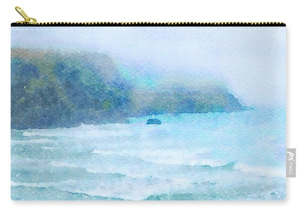 Foggy Surf Carry-all Pouch