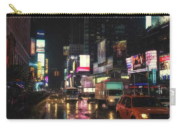 Foggy Wet Times Sq Carry-all Pouch