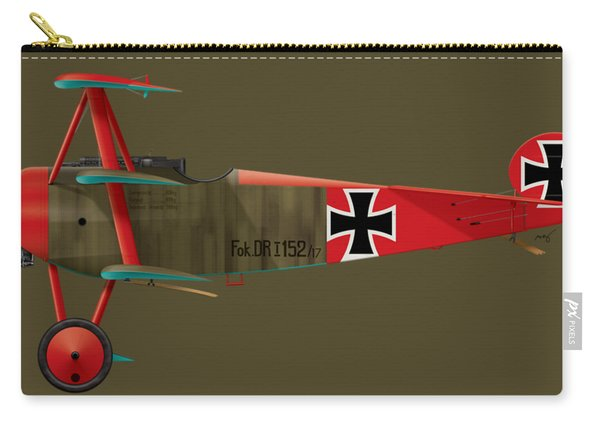 Fokker Dr.1 - 152/17 - March 1918 Carry-all Pouch