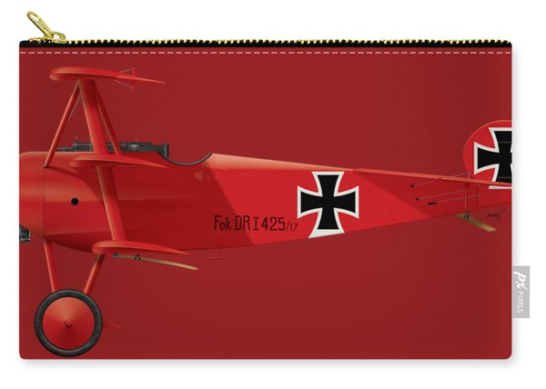 Fokker Dr.1 - The Red Baron - March 1918 Carry-all Pouch