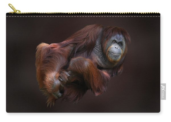 Folded Orangutan Carry-all Pouch