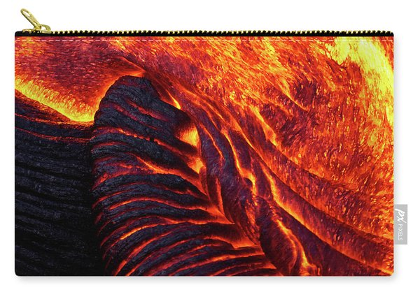 Folding Lava Carry-all Pouch