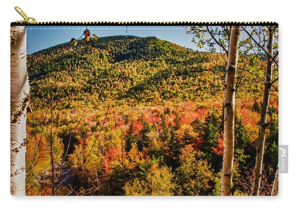 Foliage View From Crawford Notch Road Carry-all Pouch