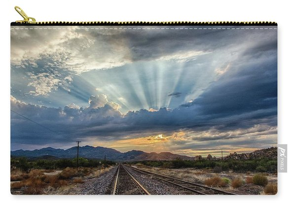 Follow The Rays Carry-all Pouch