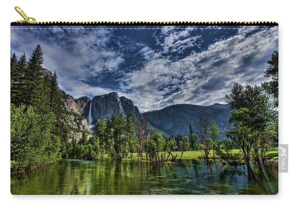 Follow The River Carry-all Pouch