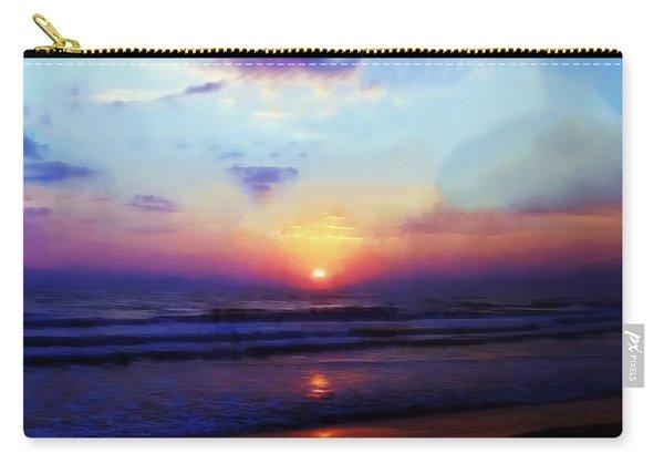 Folly Beach South Carolina Sunrise Carry-all Pouch