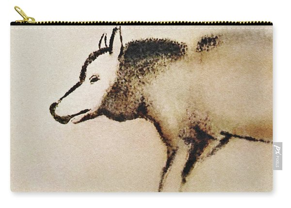 Font De Gaume Wolf Carry-all Pouch