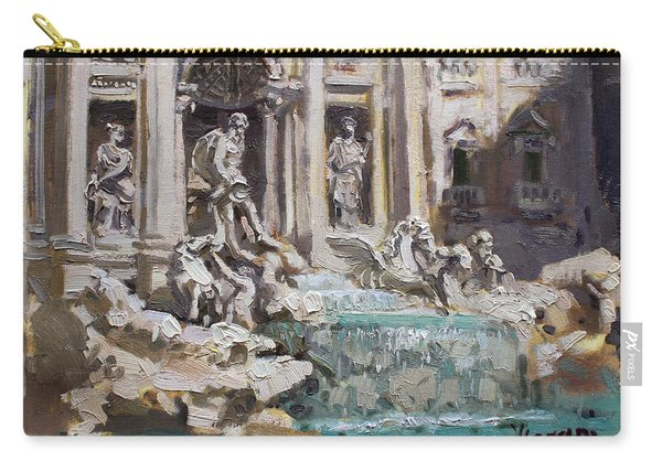 Fontana Di Trevi Rome Carry-all Pouch