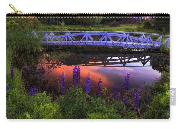 Footbridge Sunset Carry-all Pouch