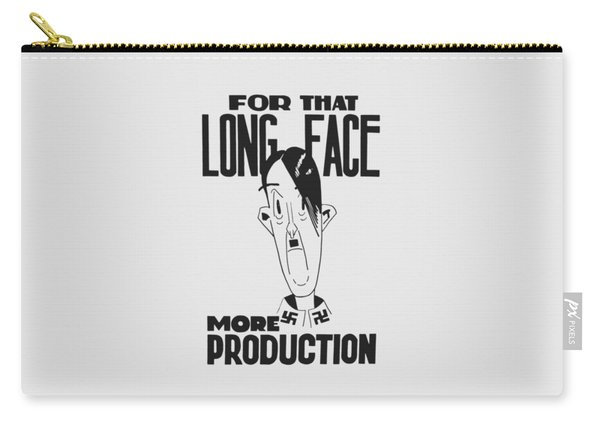 For That Long Face - More Production Carry-all Pouch