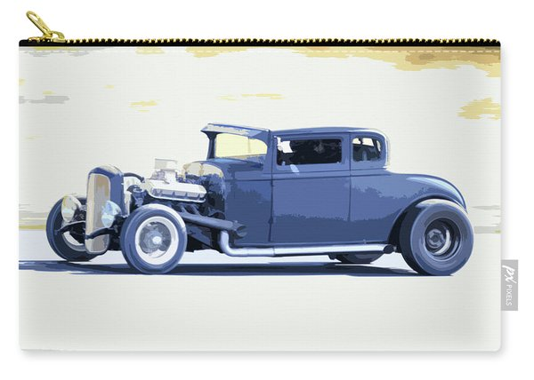 Ford Chopped Hot Rod Carry-all Pouch