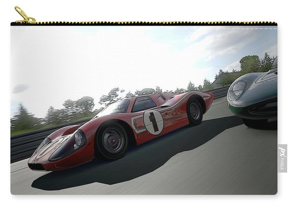 Ford Gt40 Mark Iv Carry-all Pouch