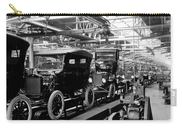 Ford Model T Assembly Line, 1920s Carry-all Pouch
