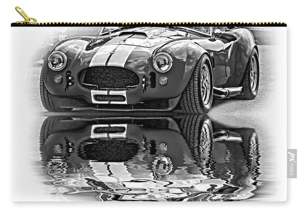 Ford/shelby Ac Cobra - Reflection Bw Carry-all Pouch