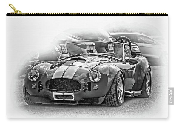 Ford/shelby Ac Cobra - Vignette Bw Carry-all Pouch