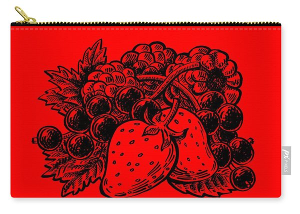 Forest Berries Carry-all Pouch