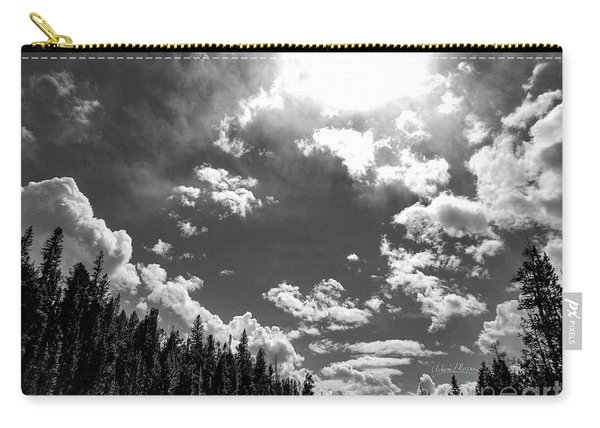 A New Day, Black And White Carry-all Pouch