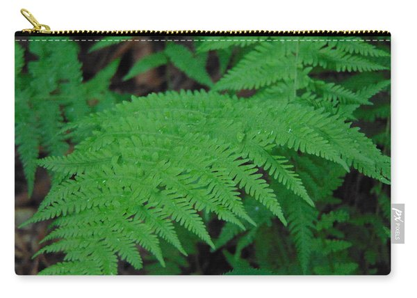 Forest Fern Carry-all Pouch