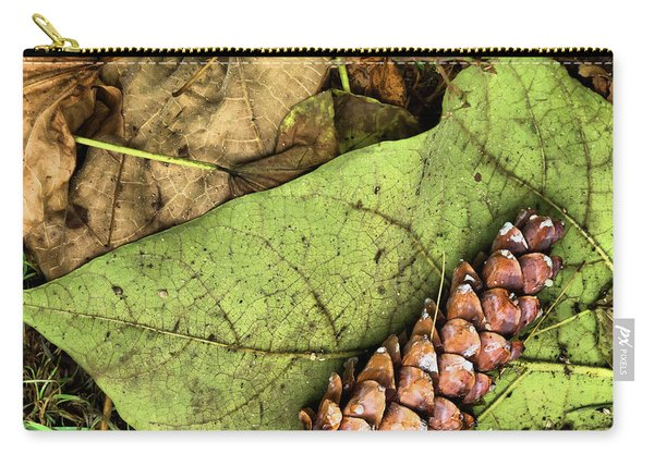Forest Floor Still Life Carry-all Pouch