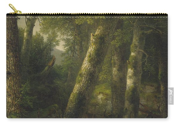 Forest In The Morning Light Carry-all Pouch