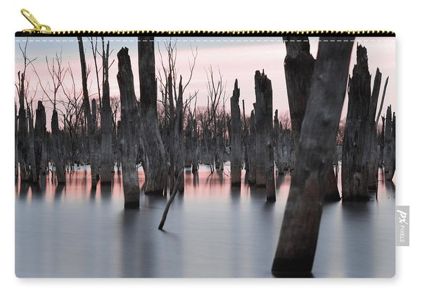 Forest In The Water Carry-all Pouch