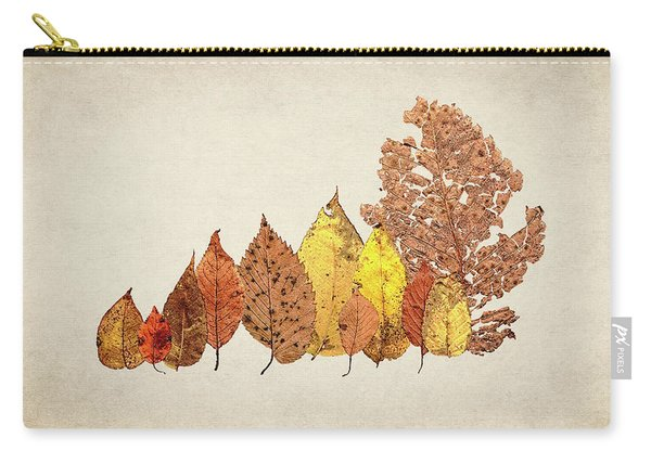 Forest Of Autumn Leaves II Carry-all Pouch