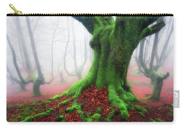 Forest Speeches Carry-all Pouch