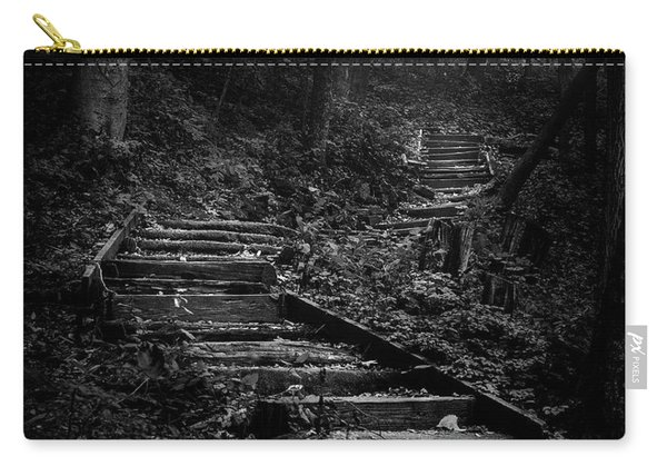 Forest Stairs Carry-all Pouch