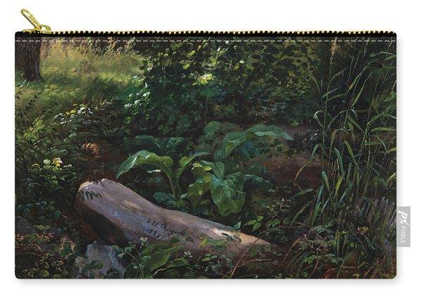 Forest Study From Grosser Garten In Dresden Carry-all Pouch