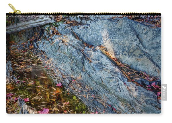 Forest Tidal Pool In Granite, Harpswell, Maine  -100436-100438 Carry-all Pouch
