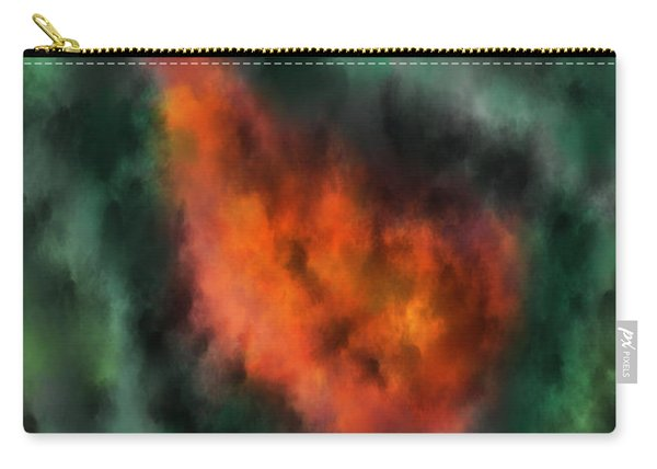 Forest Under Fire Carry-all Pouch