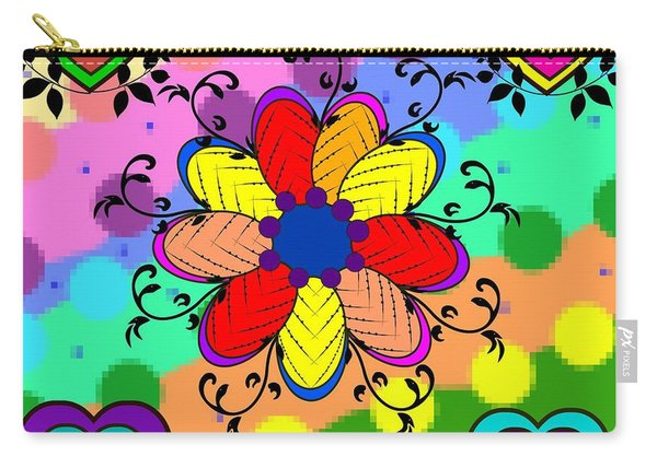 Forever Floral Carry-all Pouch